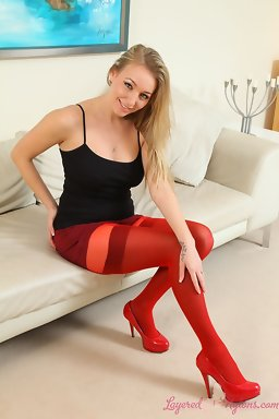 Layered Nylons - Hayley-Marie